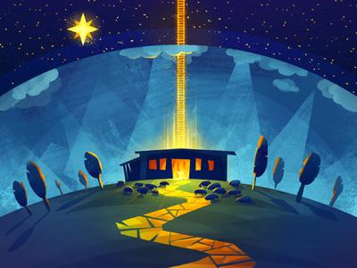 Bethlehem joseph maria bethlehem sheeps jesus christmas