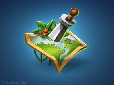 Adventure Map Icon icon map battle adventure game