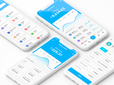 Crypto Price Tracker App.