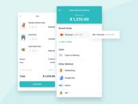 Checkout App Design