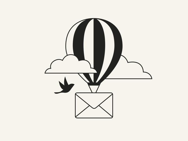Send Message Illustration icon website illustration app illustration baloon message send message minimalism illustration adobe illustrator minimal vector ui design