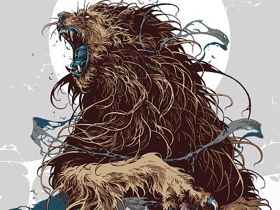 Amsterdam creature xxx amsterdam lion graphic illustration further up ivan belikov
