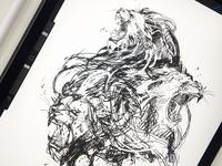 Lionheads / xxx sketch