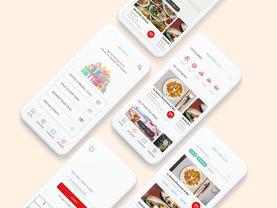 Restaurant Discover / Rewards app