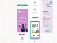 Marketing site - mobile