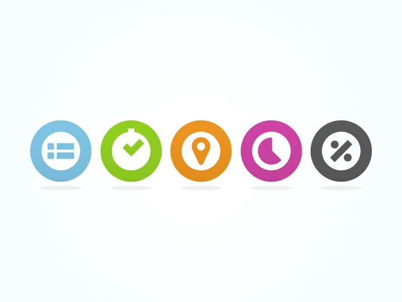 Tempo Product Icons icon icons product round circle simple