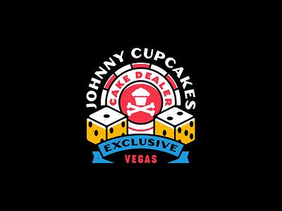 Viva Las Vegas. logo design dice badgedesign badge gambling casino neon sign las vegas branding graphic design corey reifinger typography logo illustration johnny cupcakes