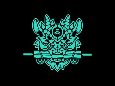 Mulan. mulan dragon vector corey reifinger graphic design johnny cupcakes illustration
