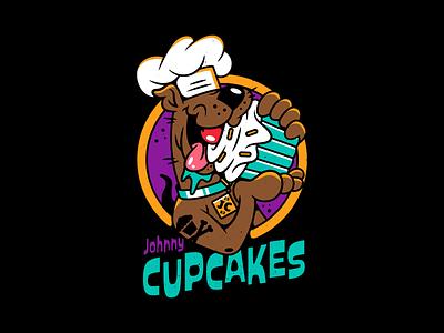 Scooby. badgedesign scooby doo branding type logo vector illustration johnny cupcakes corey reifinger
