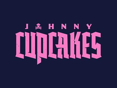 Edgy. font metal gothic blackletter custom lettering branding corey reifinger johnny cupcakes vector typography type logo illustration