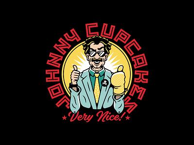 Borat. corey reifinger illustrator movie character borat graphic design typography type logo vector johnny cupcakes illustration