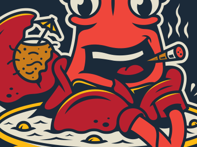 Chowder. corey reifinger johnny cupcakes hot tub soup illustration party boston lobster