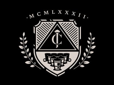 Fat Frat. corey reifinger ivy league beer pong johnny cupcakes fraternity frat crest logo college