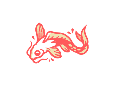Koi. corey reifinger swim ramen sushi china japan koi illustration fish
