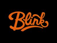 Blinking.