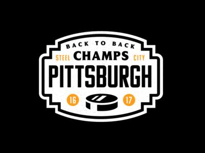 Hockey Night 5. pa vector sports crest badge logo pittsburgh nhl ice hockey