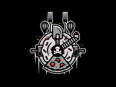 Millennium Snackin. corey reifinger johnny cupcakes galaxy illustration space ship millenium falcon han solo star wars