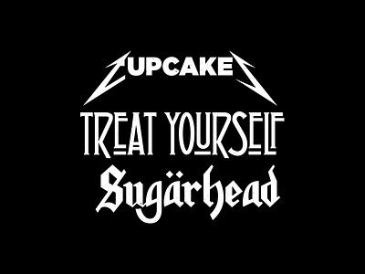 Metal. heavy metal rock and roll corey reifinger logo motorhead led zepplin metallica vector typography lettering type johnny cupcakes