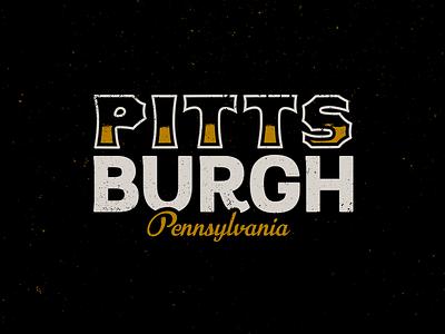 Pitt. city pennsylvania pittsburgh logo lettering typography type