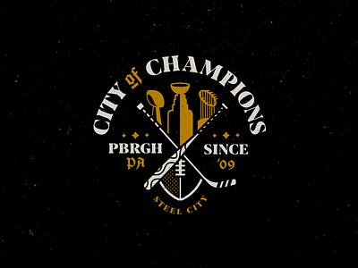Pitt 2. city sports pennsylvania pittsburgh badgedesign logo illustration typography type
