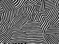 Seamless Pattern: Confused Zebra