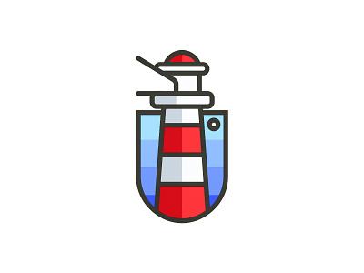 lighthouse light sea red lighthouse logo brand lighthouse