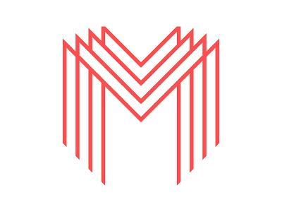 M Line red line logo