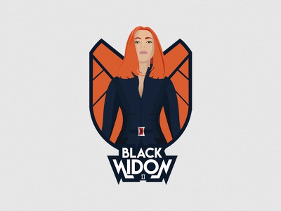 Blackwidow avengers brand hero black widow