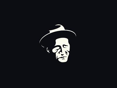 Aşık Veysel logo illustraion veysel aşık portrait