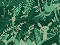 All Green forest
