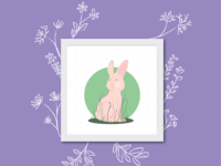 The rabbit again