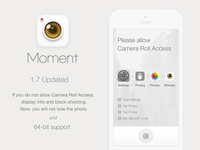 Moment Camera updated ver 1.7
