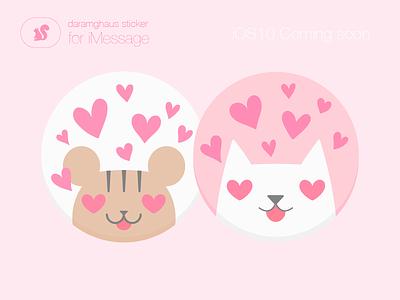 Love imessage love ios10 sticker