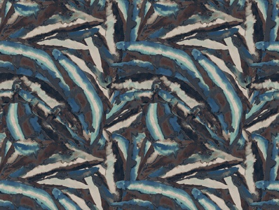 expresionism print pattern with raster gradation