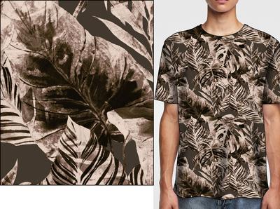T shirt floral print