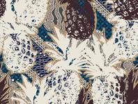 pineapple batik design