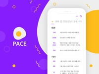 PACE - todo list app