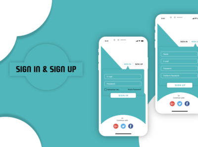 Sign and Sign Up
