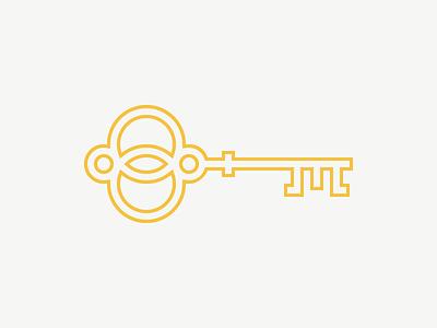 La camera delle meraviglie  yellow key logo