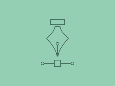 Graphic outline minimal bézier services graphic icon