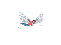 inFlight / Website's Header Illustration