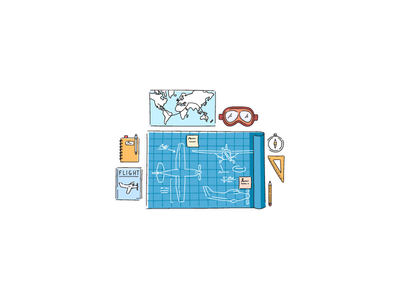 inFlight / Home Page Illustration