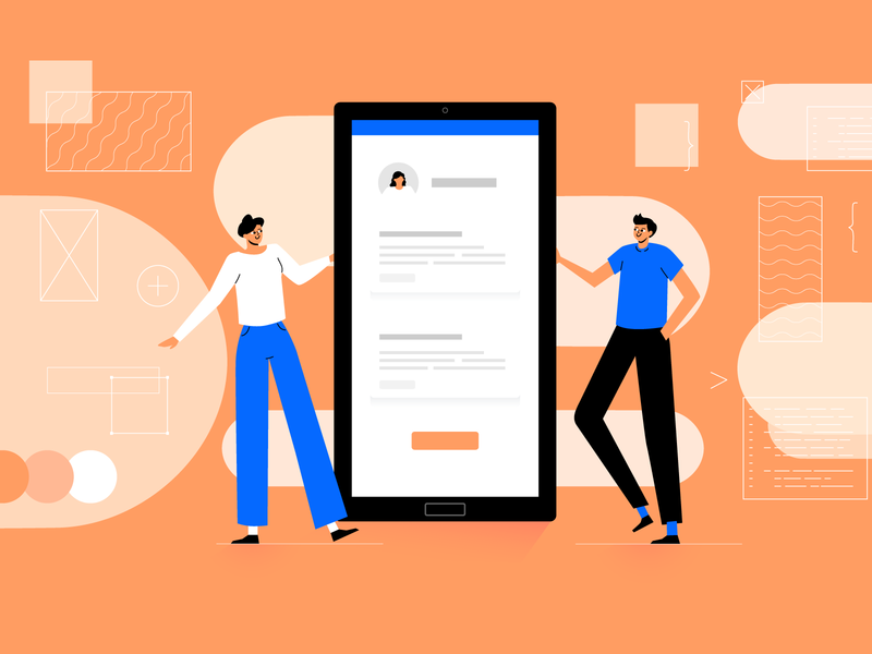 What do Mobile Devs expect from UX/UI Designers? ui ux designer developers innovation news vector app digital design illustration
