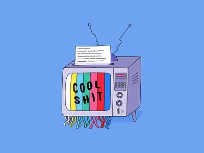 Cool Shit #21 tv art cool innovation news digital design illustration