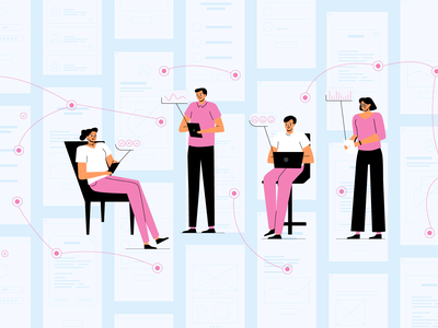 User Testing user testing innovation app news article character digital design illustration