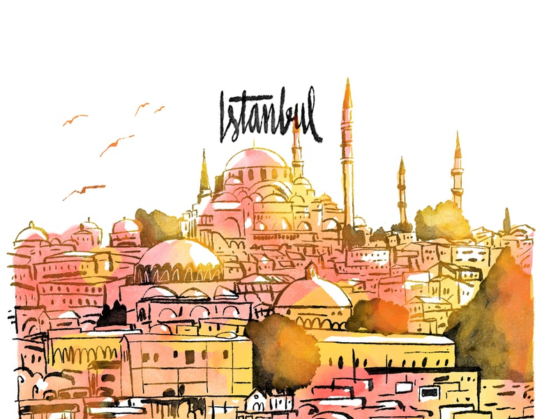 Istanbul for Volkskrant Magazine