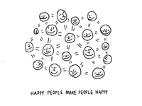 Happy People Make People Happy