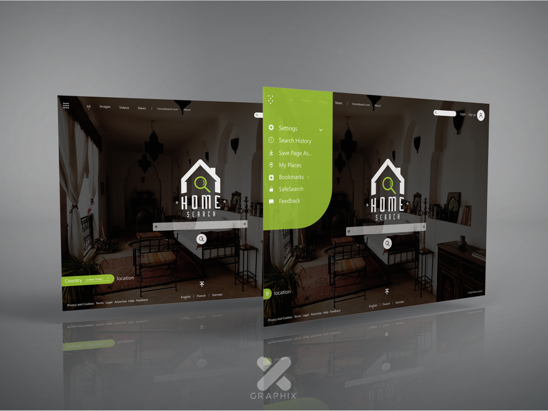 Home search web design vector type logo ios artist art ui flat animation web app icon