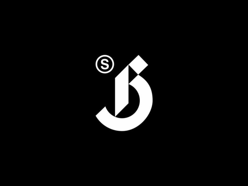 Play With Type - B Studio studio minimal branding logo brandits typeface geometric monogram letter typography type play