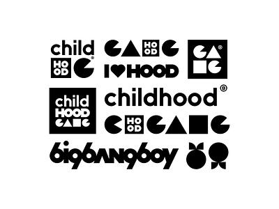 Childhood Gang - T-shi*t Print IV brandits typography brandig logo boy bang big love gang childhood hood child